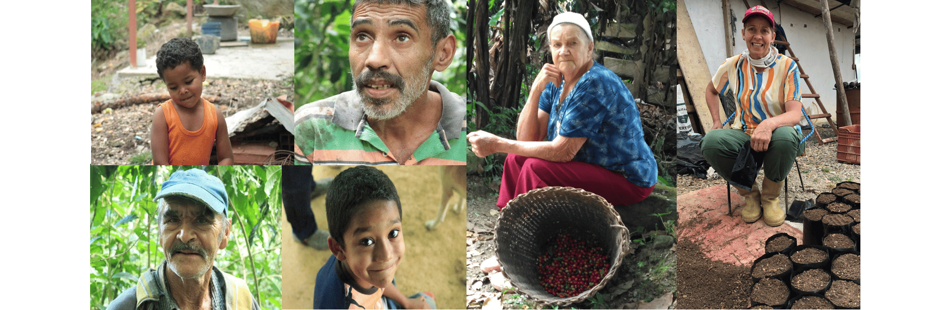 The farmers and their families in Piedra de Cachimbo and La Florida